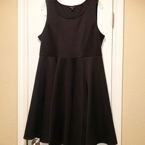 Torrid Sleeveless Black Dress